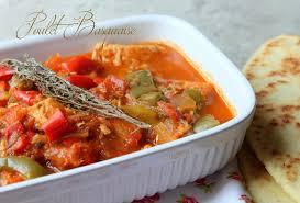 poulet basquaise recettes faciles recettes rapides de djouza