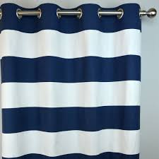Striped Curtain Panels 96 by Two 100 Inch Wide Curtains Navy White Cabana Horizontal Stripe