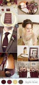 Wedding Trends 10 Fantastic Burgundy Color bos for 2017