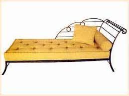 meubilier en fer forgé du maroc