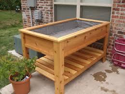 cedar raised garden box by jbergh lumberjocks com garden