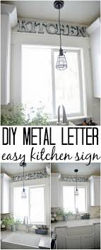 Wondrous Wall Design Diy Metal Letter Industrial Vintage Letters Large Size