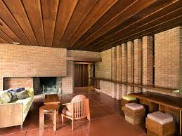 100 Frank Lloyd Wright Houses Interiors WeltzheimerJohnson House Oberlin College And Conservatory