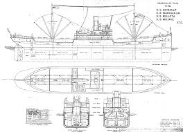 Titanic B Deck Plans by The Standard Wooden Cargo Steamships Of World War I