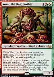 budget paper wort the raidmother commander edh mtg deck