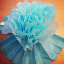 DIY Giant Tissue Paper Flowers Tutorial 2 For 100 Make Beautiful Birthday Party Decorations Step 8