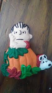 Linus Great Pumpkin Image by Peanuts Snoopy Linus Great Pumpkin Refrigerator Magnet
