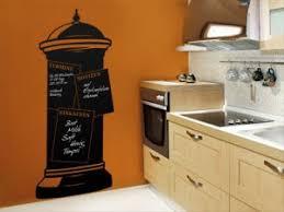tafelfolie als pinnwand für die küche die litfaßsäule als