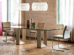 Modern Dining Room Tables Italian Table Diapason Made In By Glass