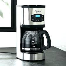 Krups Savoy Stainless Steel Coffee Maker Combined With Cup Programmable