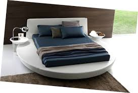 bedroom sweet presotto zero sunrise round platform bed low