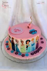 Tarta Princesas Disney clásicas y Frozen Classic Disney Princess
