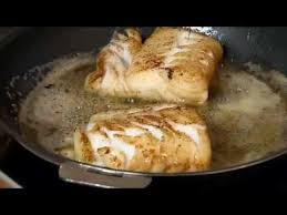 recette de cuisine dos de cabillaud poêlé sauce pesto pinot