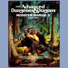 ADD Advanced Dungeons And Dragons Monster Manual II 2 TSR 2016 1983