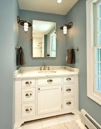 Bathroom Double Vanity Lights by White Porcelain Bathroom Lighting Upgrade Your With Sconces