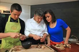 et si vous preniez un cours de cuisine avec le chef régis