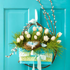 0 Spring Home Decor Decoration Ideas Flowers Door