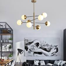 moderne hängeleuchte kugel design für schlafzimmer