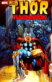 1978s Thor Ragnarok Photo Marvel Comics