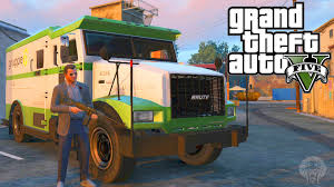 100 Gta 5 Trucks And Trailers GTA How To Make Huge Amounts Of Money Robbing Security