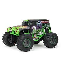 New Bright F/F Monster Jam Grave Digger RC Car (1:15 Scale): Buy New ... New Bright Monster Jam Radio Control And Ndash Grave Digger Remote Truck G V Rc Car Jams Amazoncom 124 Colors May Vary Gizmo Toy 18 Rc Ff Pro Scorpion 128v Battery Rb Grave Digger 115 Scalefreaky Review All Chrome Scale Mega Blast Trucks Triangle By Youtube 1530 Pops Toys New Bright Big For Monster Extreme Industrial Co