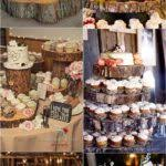 Wedding Cake Cakes Wood Stand Awesome Rustic From Once Wed