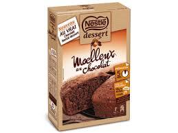100 familles ont testé le moelleux au chocolat de nestlé dessert