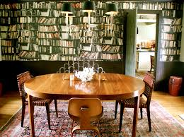 Make Your Own Wallpaper For Great Room Design With Library
