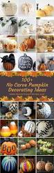 Glow In The Dark Plastic Pumpkins by 100 No Carve Pumpkin Decorating Ideas Prudent Penny Pincher