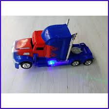 100 Optimus Prime Truck Model Robot Transform Mobil Berubah Jadi Robot Otb206