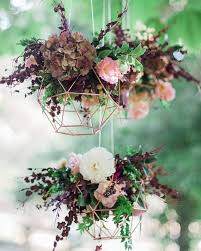 Gorgeous hanging flowers for the big day Pinterest