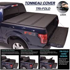 100 F 150 Truck Bed Cover Its 20152018 ORD Triold Solid Hard Tonneau 65ft 78