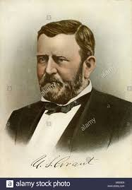 Ulysses S Grant 18th President Of The United States Portrait