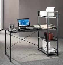 Realspace Magellan L Shaped Desk Dimensions by Glass Top Desk Office Depot Office Depot Realspace Magellan L