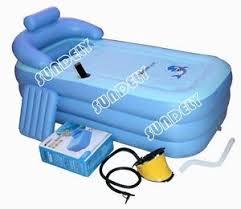 uk spa pvc folding portable bathtub warm inflatable bath tub