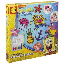 ALEX Toys Spongebob Window Sticker Art Kit - AlexBrands.com Spongebob Kids Table And Chairs Set Themed Timothygoodman1291 Spongebobs Room Crib Bedding Squarepants Activity Amazoncom 4sea Square Pants Directors Chair Clutch Childrens Soft Slipper Slipcover Cute Spongebob Party Up Chair So I Was Walking With My Roommate To Get Flickr Toddler Bedroom Bundle Bed Toy Bin Organizer Liuyan Placemats Sea Placemat Washable Nickelodeon Squarepants Bean Bag Walmartcom Pizza Deliverytranscript Encyclopedia Spongebobia Fandom Cheap Find Deals On Line Toys Wallpaper Theme Decoration