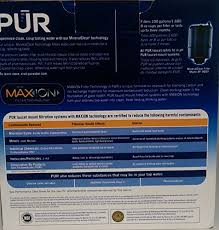 Pur Faucet Mounted Water Filter by Pur Fm 9000b Faucet Mount Water Filter Stainless Steel Style