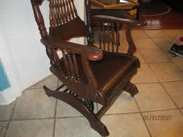 Rare Victorian Antique Oak A.H Schram Rocking Chair ... Spring Mechanism Stock Photos Best Rocking Chair In 20 Technobuffalo Belham Living Stanton Wrought Iron Coil Ding By Woodard Set Of Rocking Chair Archives Prodigal Pieces Platform Or Spring Collectors Weekly Buy Custom Truck Bar Stools Made To Order From Antique Victorian Eastlake Carvd Rare Oak Ah Schram Fniture Specific Rock On Loaded Swing Resort Coon Relax Chill Tables