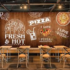 Free Shipping 3D Custom Sushi Letters Mural Borderless Restaurant Pizza Store Coffee Shop Wallpaper