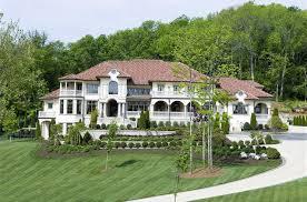 11 000 Square Foot Mediterranean Villa In Franklin TN