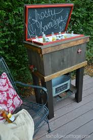 How To Build A Wood Cooler Tutorial By Foxhollowcottage