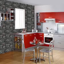 papier peint cuisine gris beautiful papier peintcuisine gallery amazing house design
