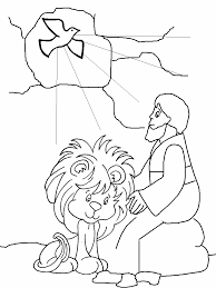 Nw Daniel Bible Coloring Pages