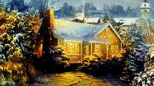 Thomas Kinkade Christmas Tree Cottage by Thomas Kinkade U0027s Home For Christmas 2008 News Movieweb