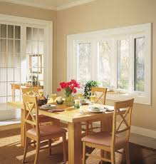 Bow Kitchen Window With 4 Separate Casement Operable Windows