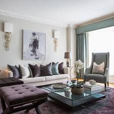 Grey And Purple Living Room by Yellow And Purple Living Room Home Design