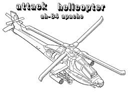 Coloring Page Helicopter Transportation 123