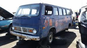 Junkyard Find: 1969 Chevrolet ChevyVan 108