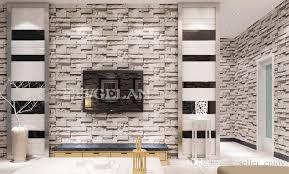 großhandel style esszimmer 3d wallpaper stein ziegel design hintergrund wandvinyl tapete moderne für wohnzimmer wallcovering seller enjoy
