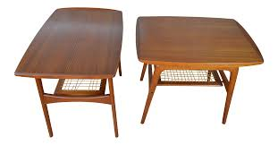 Arne Hovmand Olsen For Mogens Kold Danish Teak End Tables | Chairish Mid Century Modern Teak Ding Set With Fniture Danish Table Room And Chairs Mid Century Danish Modern Teak Ding Table Chair Set Mafia Legs Manufacturers 1960 30 Most Fantastic Coffee Toronto Scdinavian And Hans Olsen Frem Rojle At Set Midcentury Teak Table Chairs By Inger Harmylelafoundationorg 6 By Lucian Ercolani Por Ercol Circa 1960s Papercord Ding Mogens Kold Danish Niels Kfoed Interior Rare Villy Schou Andersen Of Six